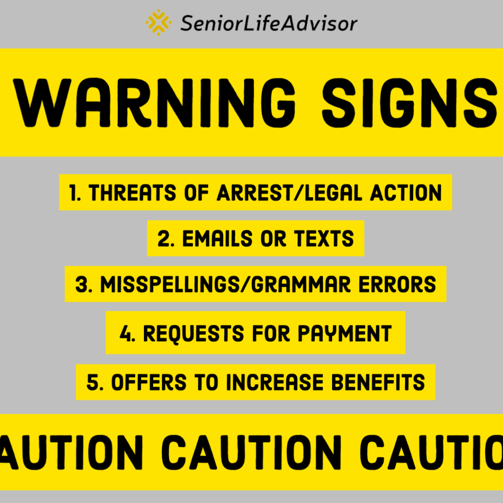 Social Security Email Warning Signs