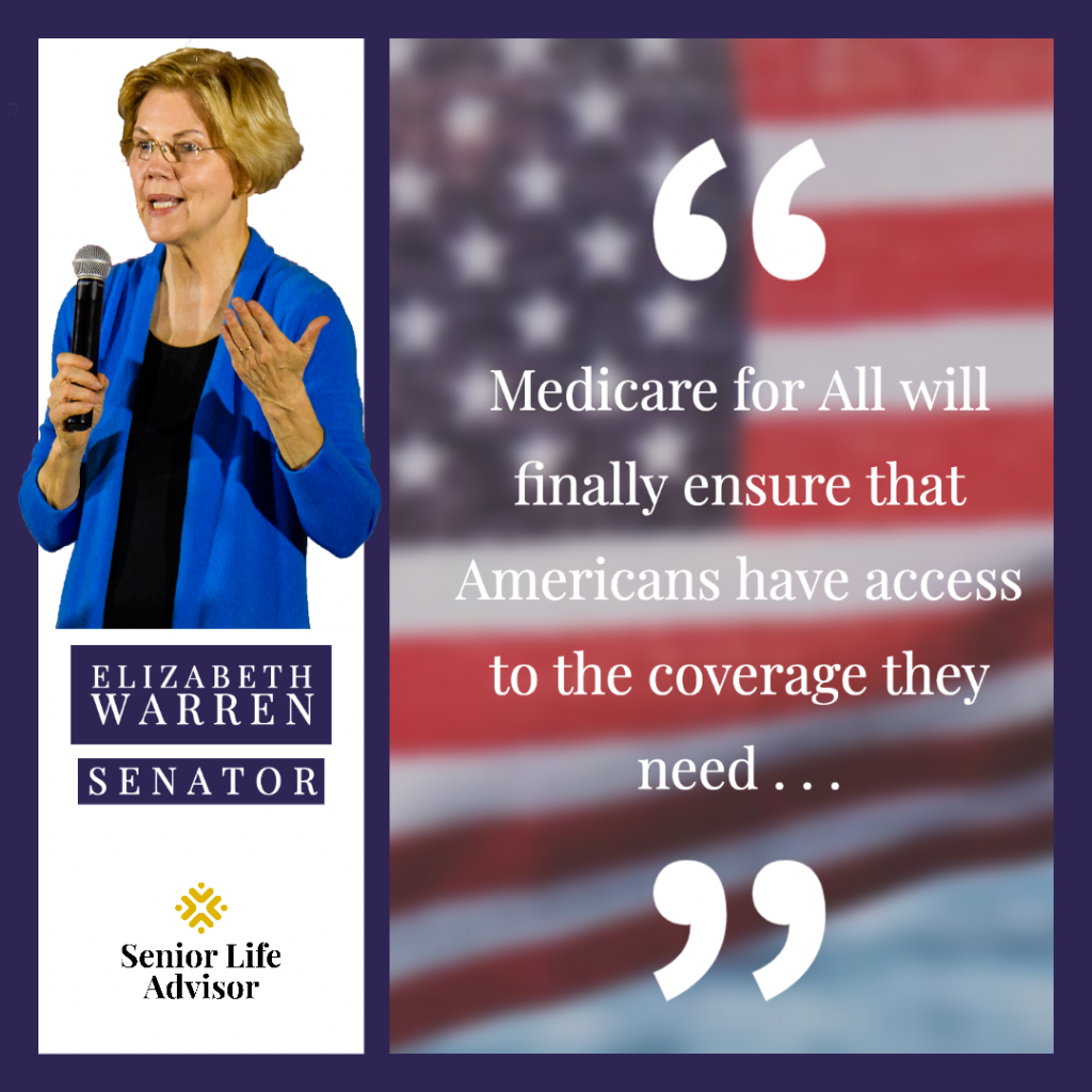 Senator Warren discusses her plan to implement a single-payer health care system.