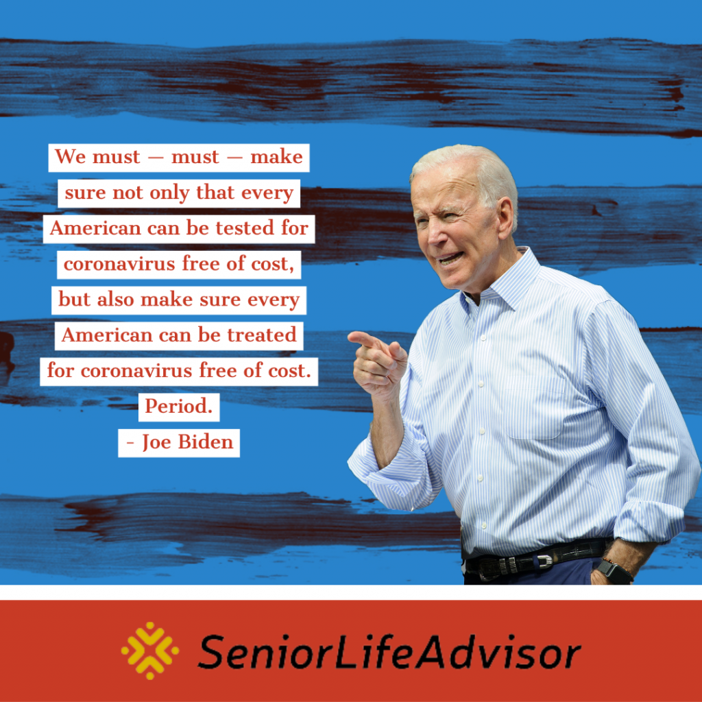 Former Vice President Joe Biden announces changes to Medicare.